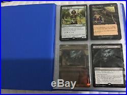 Magic the Gathering Binder Full of $10 Cards Rare Mythic Full Art Foil Promo New
