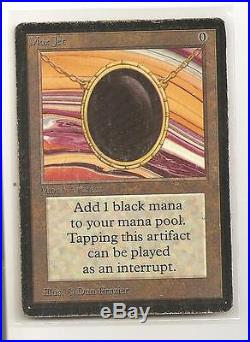 Magic the Gathering MOX JET BETA MP/HP SCANS PRICED TO SELL