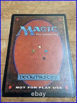 Magic the Gathering MTG Over sized Promo 6-9 Black Lotus Very Rare