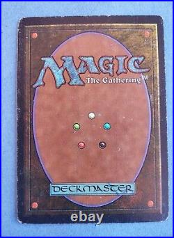 Magic the Gathering MTG Transmute Artifact Antiquities Blue Rare sorcery