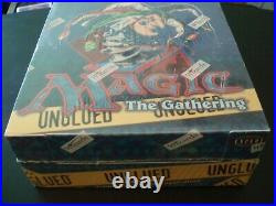 Magic the Gathering MTG Unglued Booster Box Factory Sealed New OOP Rare
