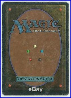 Magic the Gathering MTG Unlimited Mox Jet HEAVY PLAY (HP)