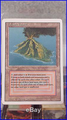 Magic the Gathering Revised Edition Volcanic Island
