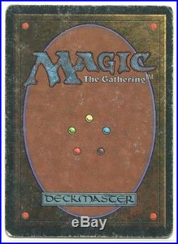 Magic the Gathering Unlimited Single Time Walk MODERATE PLAY- RARE MTG