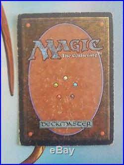 Magic the Gathering. Unlimited Underground Sea. Moderately Played