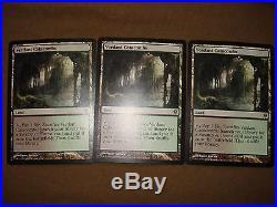 Magic the Gathering Verdant Catacombs x3 Zendikar SP