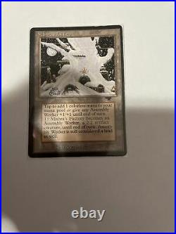 Magic the Gathering Vintage Death and Taxes Deck with MISHRA'S FACTORY NM MTG