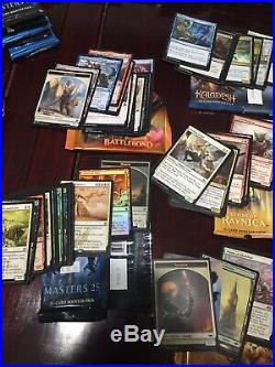Magic the Gathering collection, OPENED booster packs, deck, rares, foils