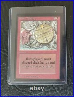 Magic the gathering MTG Wheel Of Fortune Collector's Edition CE Beta Rare