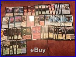 Magic the gathering collection 4000 rares and 1500 foil rares Cheap