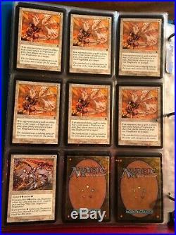 Magic the gathering collection APOCALYPSE Binder MTG LOT With Rares FOIL Cards APC