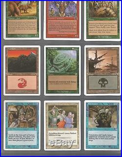 Magic the gathering collection all rare mythic rare cards no commons