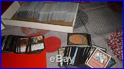 Magic the gathering mixed lot (over 20 years with rare cards and shinny cards)