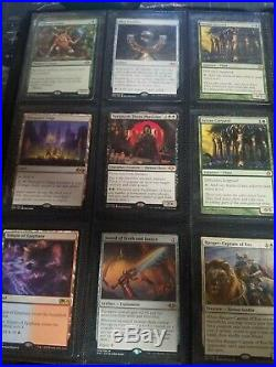 Magic the gathering rare & mythic collection binder