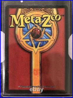 MetaZoo 1st Ed SAMPLEFOREST GODS AMBERHOLO Gold Rare Black Border