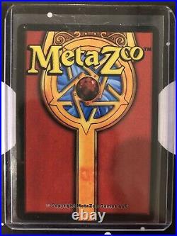 MetaZoo 1st Ed SAMPLEFOUNTAIN OF YOUTHHOLO Gold Rare Black Border