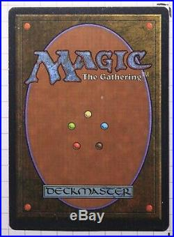 Mox Jet Unlimited Magic The Gathering Individual Card very light play