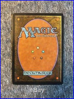 MtG UNLIMITED MOX JET, EX/NM, Power 9, very light play (sleeved)