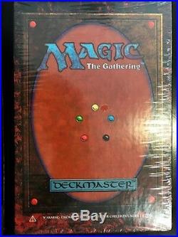 Mtg 4th Edition Ed 1995 Deckmaster Factory Sealed Box Rare Magic The Gathering
