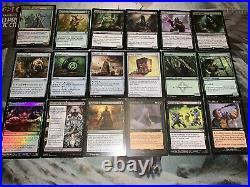 Mtg EDH Deck Nath of the Gilt-Leaf Discard Lots of Rares/Mythics