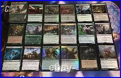 Mtg Full EDH Deck Chatterfang, Squirrel General Lots of Rares/Mythics