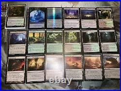 Mtg Full EDH Deck The Gitrog Monster Ramp Lots of Rares/Mythics
