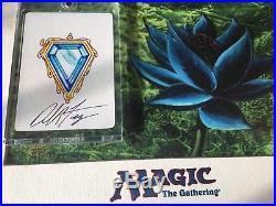 Mtg Mox Sapphire Magic The Gathering Power Nine (p9) Proof Alt Art Card Rare