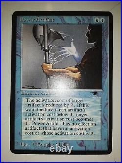 Mtg Power Artifact Blue Card Near Mint