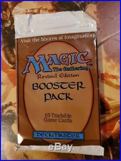 Mtg Revised Booster Pack, The Dark Booster Pack, 4th Edition Booster Pack