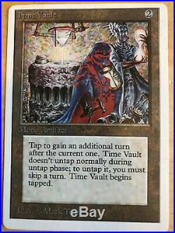 Mtg UNLIMITED Time Vault Old School Vintage Reserved List Magic Great Cond
