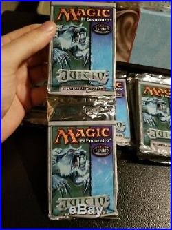 Mtg oditty misprint miscut crimp Judgment Booster ONE OF A KIND pimp rare
