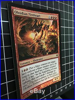 Obsidian Fireheart FOIL MINT-NM MYTHIC RARE MTG Magic the Gathering