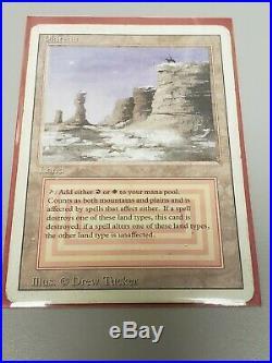 Plateau Revised 3rd Edition Dual Land LP MTG Magic The Gathering Rare Key Card