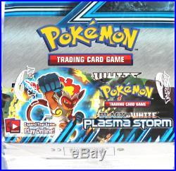 Pokemon B&W Plasma Storm Booster Box Sealed Fair Condition Rare Trusted Seller