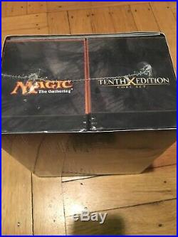 RARE MTG Magic Tenth 10th X Edition Core Set Fat Pack Booster Box Packs & Guide