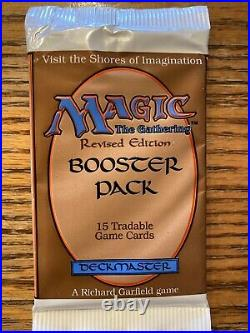 Revised Edition Factory Sealed Booster Packs X (1) MTG Vintage (RG) 4RCards