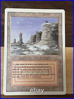 Revised Plateau MTG Near Mint Magic Card #1