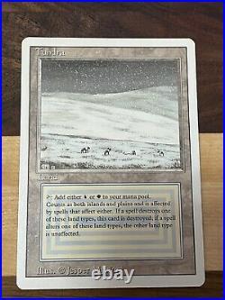 Revised Tundra MTG Near Mint Magic Card #1