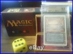 Revised Underground Sea BGS Graded 9.5 NQ Mint Magic The Gathering MTG 1993 Dual