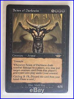 Scion of Darkness NM RARE AVATAR MTG Magic The Gathering 100% Feedback AUS