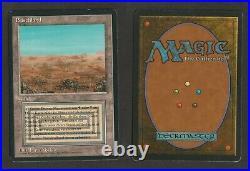 Scrubland, Buschland, FBB German (Beta), EXC/LP, MTG, Magic, Dual-Land