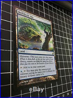 Shelldock Isle NM-EX Rare Land Lorwyn MTG Magic the Gathering
