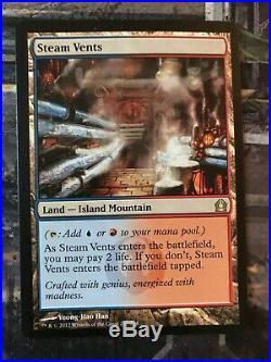 Shock Land Bundle, MTG, Magic the Gathering, 10 Land Set