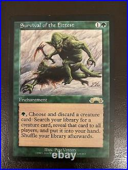 Survival of the Fittest Exodus MTG LP/Great Condition