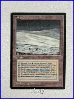 TOUNDRA / TUNDRA MTG Magic the Gathering FBB Dual Land FR 3ème bord noir