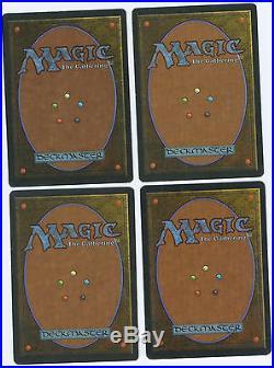 Taiga Revised Magic The Gathering Rare x4 PLAY SET