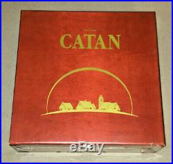 The Settlers of Catan 15th Anniversary Mayfair Games NEW-SEALED-SHRINK RARE