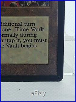 Time Vault Beta, Magic the Gathering, Rare Magic Card