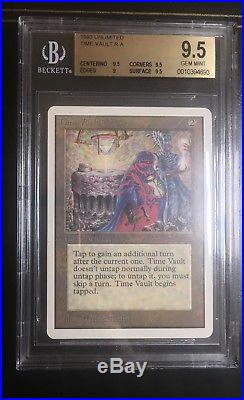 Time Vault Unlimited Gem Mint BGS 9.5 Magic MTG NM Price Drop! Priced to sell