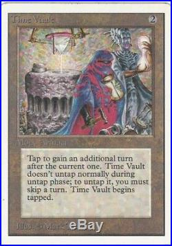 Time Vault Unlimited MTG Magic the Gathering (NM)